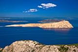 Goli Otok island in Velebit channel of Croatia - 184150488
