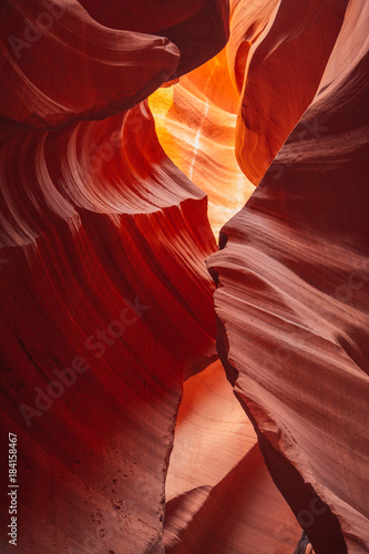 Papiers peints Rouge mauve Antelope Canyon in the Navajo Reservation near Page, Arizona USA