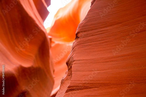 Foto op Canvas Rood traf. Antelope Canyon in the Navajo Reservation near Page, Arizona USA