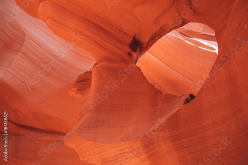 Foto op Canvas Baksteen Antelope Canyon in the Navajo Reservation near Page, Arizona USA