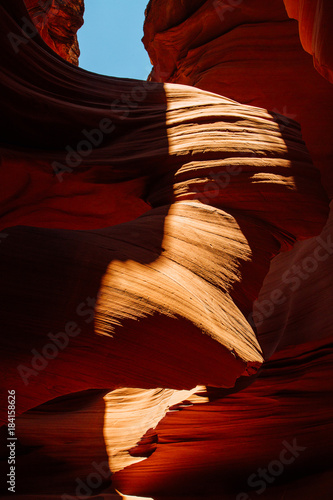 Foto op Plexiglas Bruin Antelope Canyon in the Navajo Reservation near Page, Arizona USA