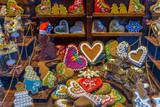 Traditional, culourful, gingerbreads handmade in Torun , Poland