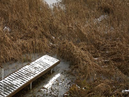 Aluminium Pier End Of Footpath
