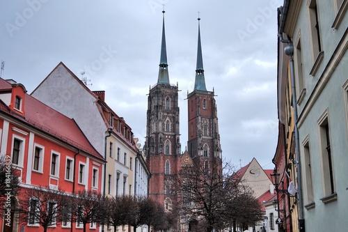 In de dag Praag 9.12.2017 Wroclaw - Poland