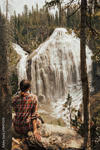 Union Falls, Yellowstone National Park - 184170213
