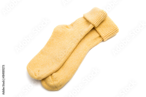 Foto Murales warm socks isolated
