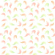 Raster seamless pattern with watercolor lures of modern colors in pastel colors - 184201439