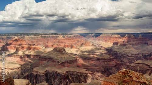 In de dag Zalm Grand Canyon Monsoon Season Storms