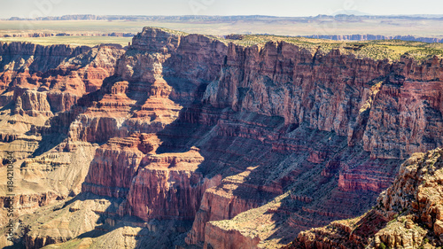 Foto op Canvas Beige Grand Canyon looking to Desert View from Navajo Point