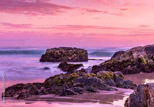 Plexiglas Zee zonsondergang Sunset Seascape Landscape