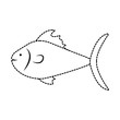 fish  vector illustration - 184229619