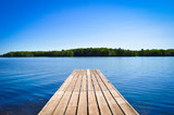 Fototapety Lake Dock