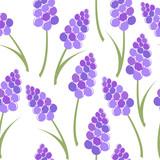 Lavender seamless pattern - 184239898