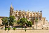 The Cathedral of Santa Maria of Palma and Parc del Mar, Majorca, Spain - 184244605