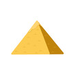 Egypt pyramid, symbol of ancient Egypt vector Illustration