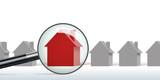 maison - habitation - immobilier - achat - propriété - concept - propriétaire - acheter - recherche - prêt - 184266854