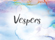 Vespers Concept Watercolor and Ink Painting