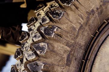 truck wheel winter