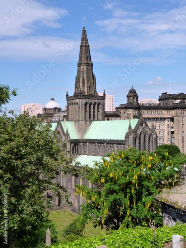Glasgow Cathedral from the Necropolis.