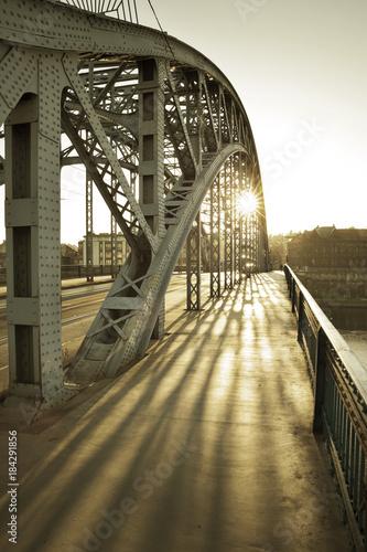 Keuken foto achterwand Krakau Bridge between Kazimierz and Podgorze in Krakow city, Poland