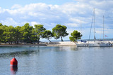Seaside Scenery in Sunny Day in Croatia. - 184300451