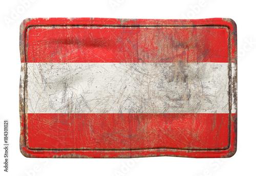 Fotobehang Wenen Old Austria flag