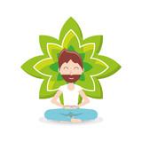 Meditation design concept  - 184307810