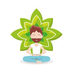 Meditation design concept