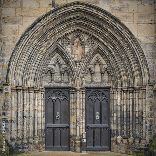 Glasgow Cathedral Main Entrance
