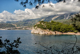 Beautiful coast view, Adriatic sea, Montenegro. - 184309413