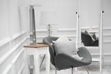 Urządzony pokój w nowoczesnym stylu - 184309483
