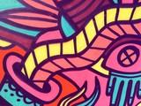 Street art - graffiti on the wall - 184314470