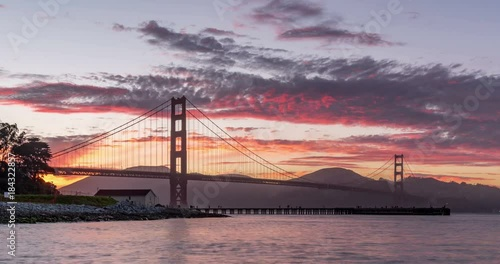 San Francisco Golden Gate Bridge 4K timelapse © FelixCatana
