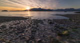 Sunset Pacific North West Bowen Island British Columbia
