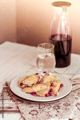 perogies food sweet  - 184348615