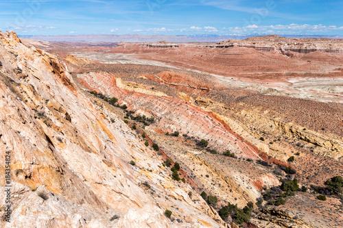 In de dag Zalm San Rafael Desert Utah