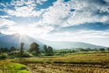 rural view in chiangmai Thailand