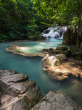 Waterfall at Erawan National Park, Kanchanaburi, Thailand