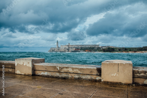 Plexiglas Havana Lighthouse Castillo del Morro
