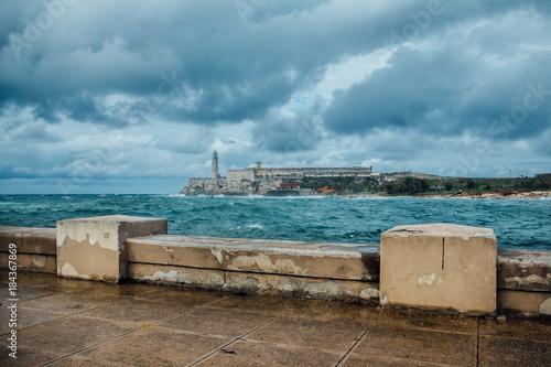 In de dag Havana Lighthouse Castillo del Morro