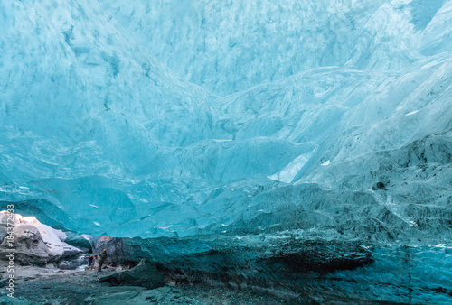 Foto op Canvas Pool when you are in an icecave