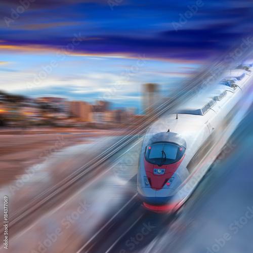 Prędkość podróżowania pociągiem