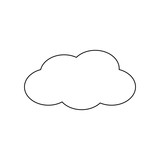 cloud icon image - 184379239