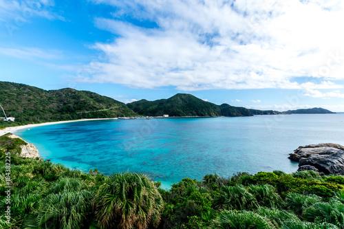 Foto op Canvas Pool 阿波連ビーチ-渡嘉敷島, 沖縄: Aharen Beach-Tokashiki Jima, Okinawa Japan