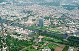 Aerial view of Frankfurt am Main, Germany. - 184396691
