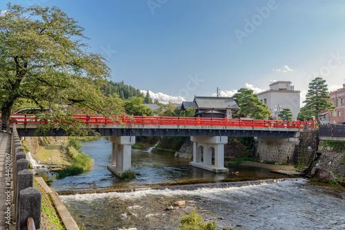 城下町高山 宮川に掛かる中橋