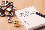 New year new plan with decoration. - 184426669