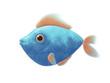 turquoise comic fish - 184427860