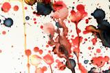 Paint splashes pattern, vintage background - 184431414
