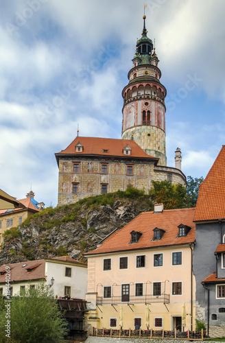 Fridge magnet Cesky Krumlov castle tower